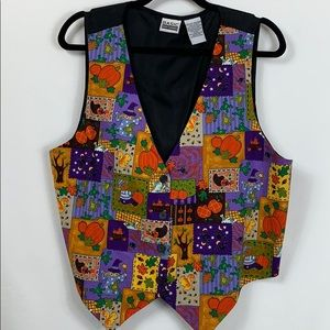 Basic Editions fall vest size XL, 100% cotton.